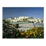 yellow Royal palace, Rabat, capital of Morocco flo Post Cards
