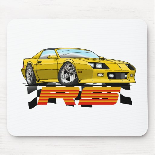 Yellow_RS_3G Mouse Pad