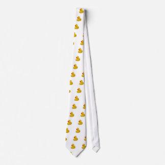 Yellow Rubber Duck fun mens tie, gift idea Neck Tie