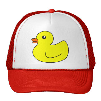 Yellow Rubber Duck Mesh Hat