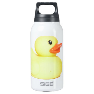 Yellow Rubber Duck Insulated Water Bottle