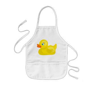 Yellow Rubber Duck Kids' Apron
