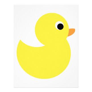 Yellow Rubber Duck Letterhead