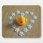 Yellow Rubber Duck Mousepad Mouse Pad