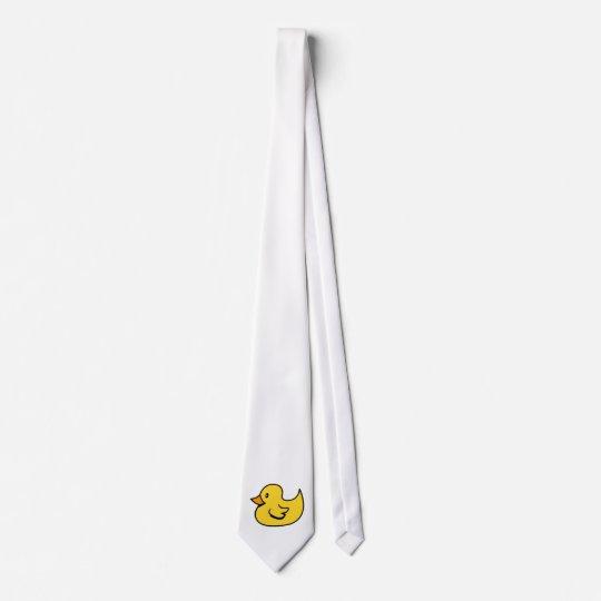 Yellow Rubber Duck Neck Tie