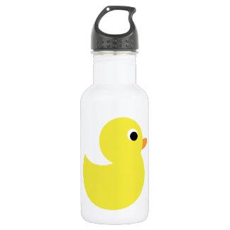 Yellow Rubber Duck 18oz Water Bottle