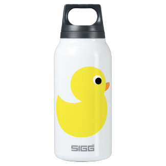 Yellow Rubber Duck 10 Oz Insulated SIGG Thermos Water Bottle
