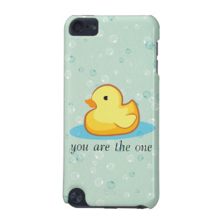 Yellow rubber duck with bubbles iPod Touch Speck iPod Touch (5th Generation) Cover