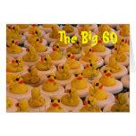 Yellow Rubber Ducks 60th Birthday Funny Card