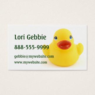 Yellow Rubber Ducks Business Card