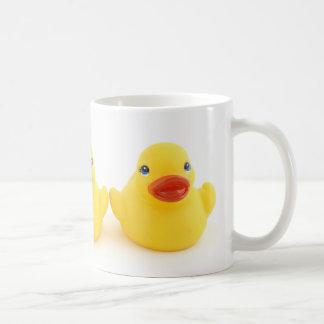 Yellow Rubber Ducks Classic White Coffee Mug