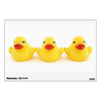 Yellow Rubber Ducks Wall Decal