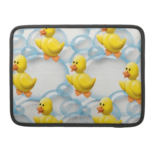 Yellow Rubber Ducky 13 Inch MacBook Pro Sleeve