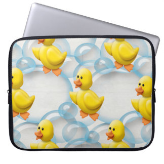 Yellow Rubber Ducky 15 Inch Laptop Sleeve