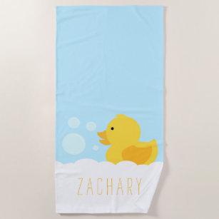 Duck Beach Towels Zazzle