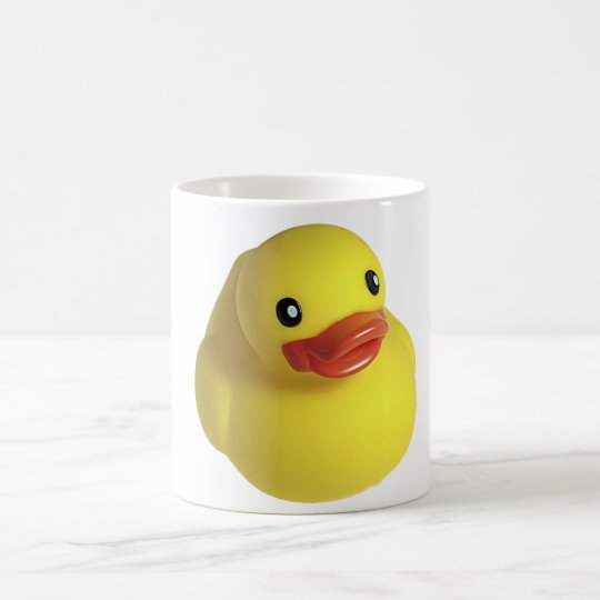 Yellow Rubber Ducky Coffee Mug
