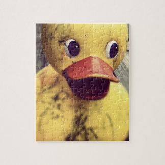 Yellow Rubber Ducky Covered in Dirt! Jigsaw Puzzle