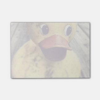 Yellow Rubber Ducky Covered in Dirt! Post-it® Notes