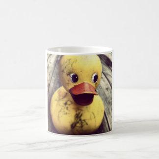 Yellow Rubber Ducky Needs a Bath! Coffee Mug