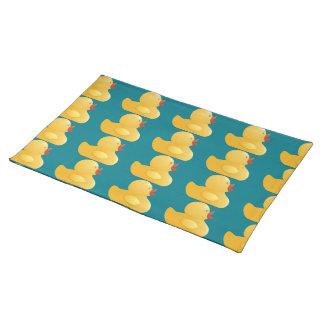 Yellow Rubberduck Cloth Placemat