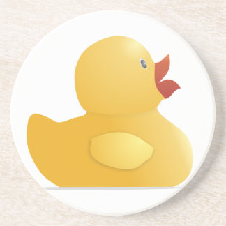 Yellow Rubberduck Drink Coasters