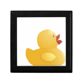 Yellow Rubberduck Jewelry Box