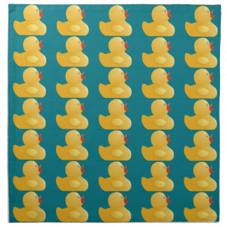 Yellow Rubberduck Napkin