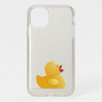 Yellow Rubberduck Speck iPhone 11 Case
