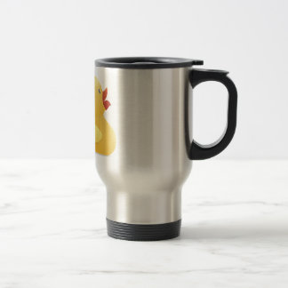 Yellow Rubberduck Travel Mug