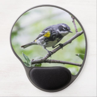 Yellow-rumped Warbler Gel Mouse Pad