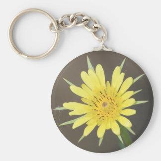 Yellow Salsify Keychain