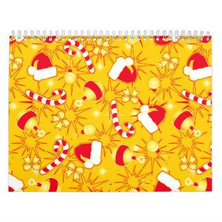 Yellow - Santa's cap Calendar