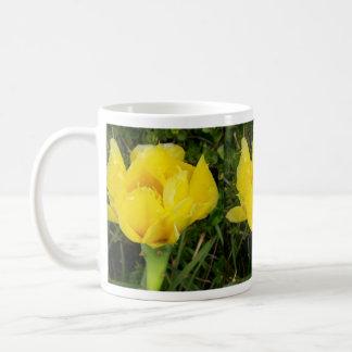 Yellow Satin Blossom Classic White Coffee Mug