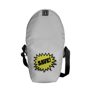 Yellow Save Courier Bags