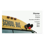 Yellow School Bus Business Card