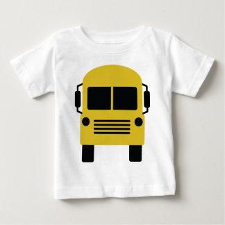yellow school bus symbol baby T-Shirt