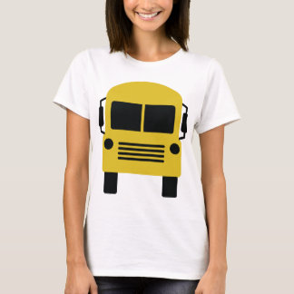 yellow school bus symbol T-Shirt