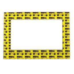 Yellow School Bus Teacher Driver Gift Photo Frame