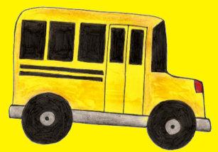 School Bus Picture Frames Zazzle