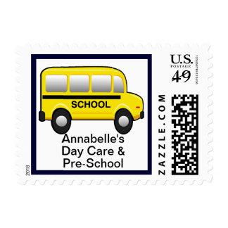 Yellow School Bus U.S. Postage Stamp