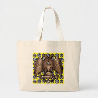 Yellow Scottish Rite Square & Compass Bag