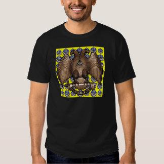 Yellow Scottish Rite Square & Compass Shirt