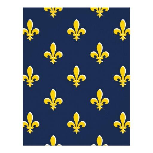 Yellow Scout Emblem Letterhead