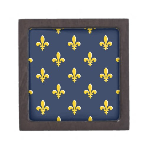 Yellow Scout Emblem Premium Keepsake Box