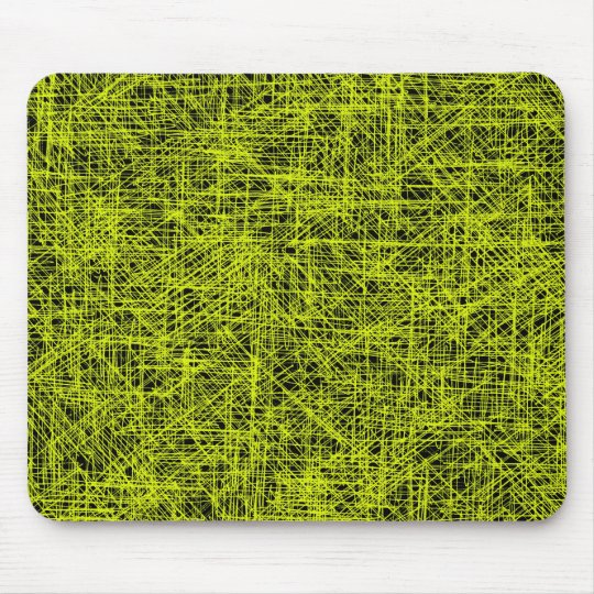 "Yellow ""Scratch"" Mousepad"