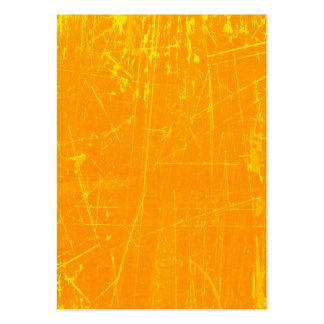Yellow Scratched Aged and Worn Texture Large Business Cards (Pack Of 100)