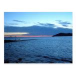Yellow Sea Sun Set Postcards
