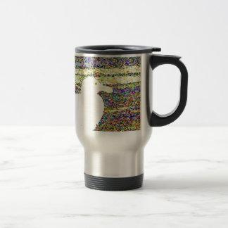 Yellow Seagull Travel Mug