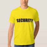 Yellow Security shirt