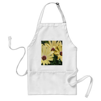 Yellow Shasta Daisies Adult Apron